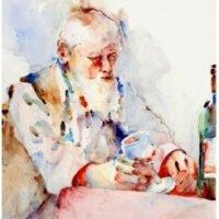 Glass Of Wine by Diane Czerwinski